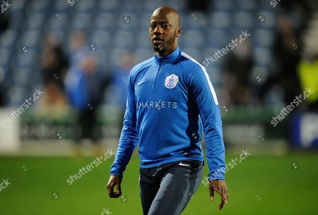 Commercial & Marketing: Samba Diakite of Qpr During the Sky Bet Championship Match Between Qpr and Hull City Played at Loftus Road London On the 1st of January 2016 United Kingdom S Africa Rd, London