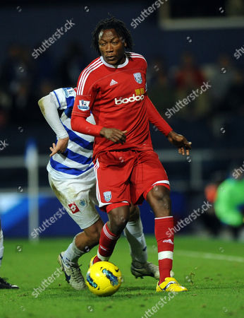 Somen Tchoyi of West Bromwich Albion United Kingdom London