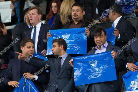 Commercial and Marketing - Qpr Board Members Ceo Philip Beard Ruben Emir Gnanalingam and Chairman Tony Fernandes Above Qpr Vice-chairman Amit Bhatia and Lakshmi Mittal Gb London