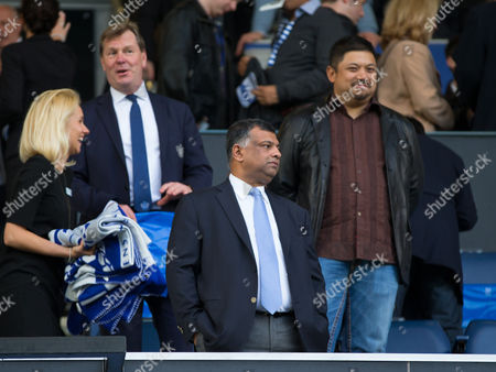 Commercial and Marketing - Qpr Chairman Tony Fernandes with Majority Share Holder Ruben Emir Gnanalingam and Ceo Philip Beard Gb London