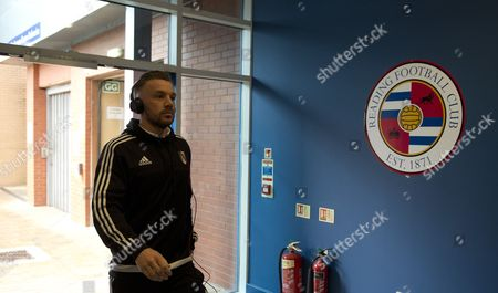Jamie O'hara of Fulham Arrives at the Madejski Stadium Before the Sky Bet Championship Match Between Reading and Fulham Played at Madejski Stadium Reading On March 5th 2016 United Kingdom Reading