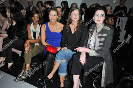 Beverley Knight,Tess Daly, Camilla Johnson-Hill and Erin O'Connor