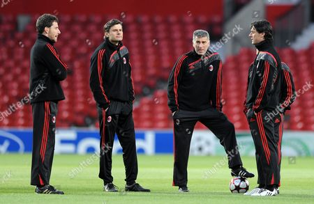 Ac Milan Assistant Manager Mauro Tassotti United Kingdom Manchester