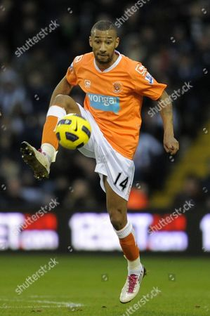 Elliot Grandin of Blackpool United Kingdom Birmingham