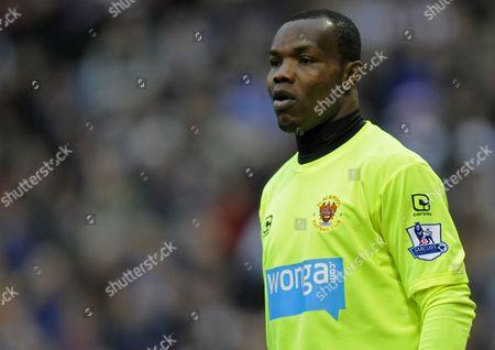 Blackpool Goalkeeper Richard Kingson United Kingdom Birmingham