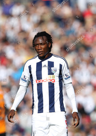 Somen Tchoyi of West Bromwich Albion United Kingdom Birmingham