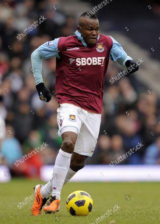 Victor Obinna of West Ham United United Kingdom London