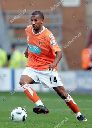 Elliot Grandin of Blackpool United Kingdom Wigan