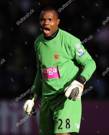 Blackpool Goalkeeper Richard Kingson United Kingdom Wolverhampton