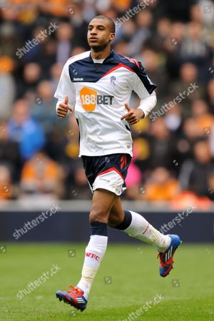 Stock Picture of David N'gog of Bolton Wanderers United Kingdom Wolverhampton