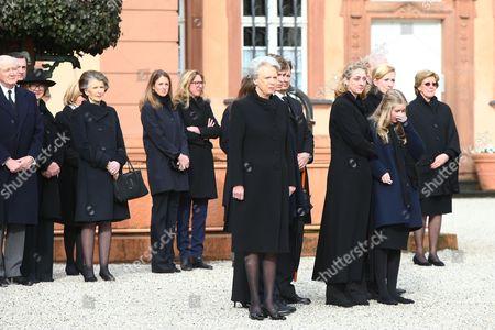 Editorial photo of Funeral of Richard of Sayn-Wittgenstein-Berleburg, Bad Berleburg, Germany - 21 Mar 2017