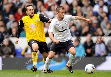 Editorial picture of Tottenham Hotspur V Blackburn Rovers - 29 Apr 2012