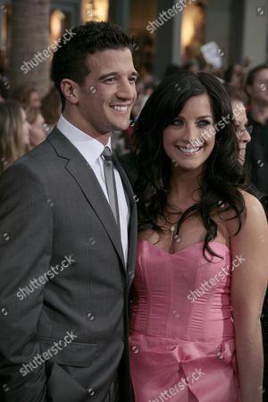 Stock Photo of Mark Ballas and Joanna Pacitti