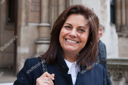 Jacqui Hames leaves the High Court today.