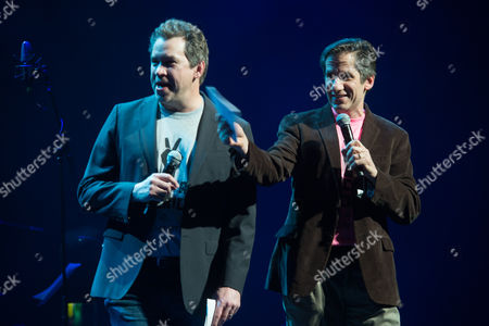 Stock Photo of James Wesley and Seth Rudetsky