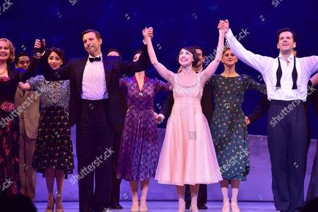 Haydn Oakley as Henri Baurel, Leanne Cope as Lise Dassin and Robert Fairchild as Jerry Mulligan