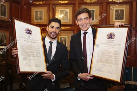 Louis Smith and James Fox