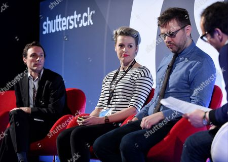 Piers Newson-Smith (Head of Brand and Marketing Planning, Direct Line Group), Lulu Skinner (Senior Marketing Manager EMEA, Airbnb), Philip Jackson (Global Brand Strategist, Mondelez International) and Ed Woodcock (Founding Partner and Director of Narrative, Aesop)