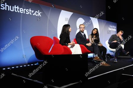 Carla Faria (Director of Content, Foundry), Jason Karaian (Global Finance & Economics Editor Quartz) Tara John (Senior Writer, Time) and Rupert Turnbull (Vice President, EMEA, Time & Fortune)