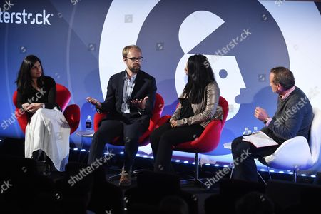 Editorial image of Extracting The Truth seminar, Advertising Week Europe 2017, Shutterstock Stage, Picturehouse Central, London, UK - 23 Mar 2017