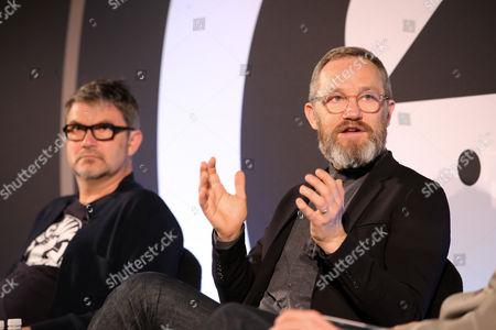 Jon Wilkins (Executive Chairman, Karmarama), and James Purnell (Director - Radio and Education, BBC)