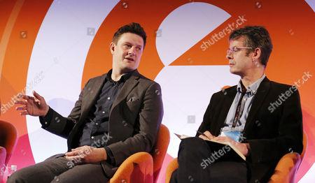 Zai Bennett (Director of Programmes, Sky), Ben Preston (Editor, Radio Times)