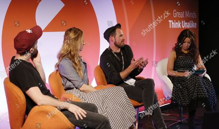 Thomas Knights (Founder/Photographer, Red Hot), Lucy Clayton (CEO, Community Clothing), Joshua Coombes (Founder/Hairdresser, #dosomethingfornothing) and Kathleen Saxton (Founder, The Lighthouse Company and Psyched)