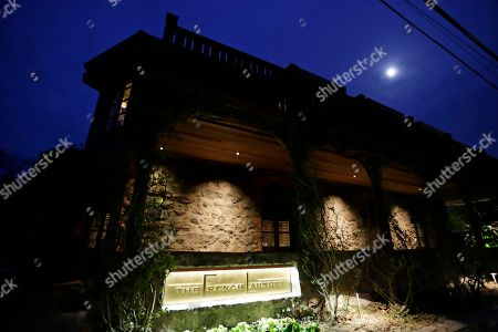 The moon rises over the French Laundry restaurant in Yountville, Calif. Celebrated chef Thomas Keller has just opened a state-of-the art new kitchen at his famed French Laundry after spending $10 million on an extensive renovation