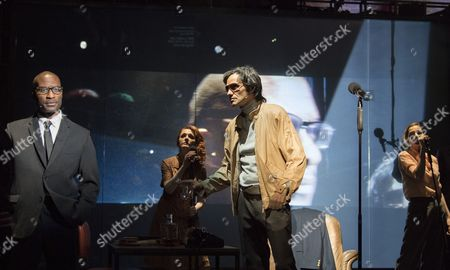 Editorial image of 'The Kid Stays in the Picture' play performed at the Royal Court Theatre, London, UK - 17 Mar 2017
