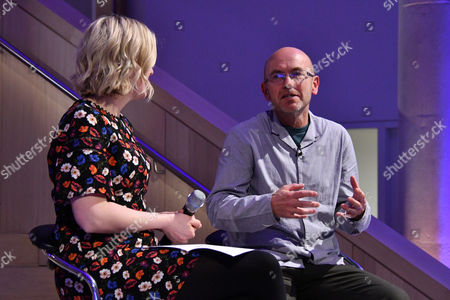 Stock Picture of Lauren Laverne and Wayne Hemingway