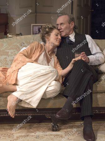 Eve Best as Olivia, Anthony Head as Sir John Fletcher