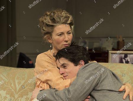 Eve Best as Olivia, Edward Bluemel as Michael
