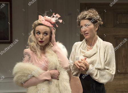 Helen George as Diana, Eve Best as Olivia,