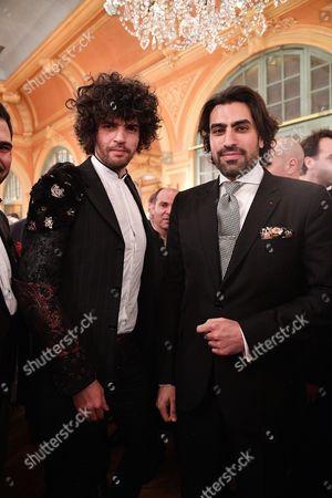 Simon Ghraichy and Prince Salman ben Abdelaziz ben Salman Al Saud of Saudi Arabia of Saudi Arabia