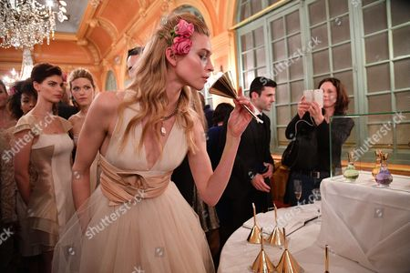 Editorial picture of Jean Paul Guerlain, 'My Exclusive Collection' perfume launch, Versailles, France - 22 Mar 2017