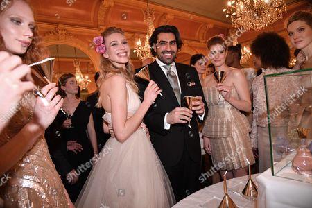 Nora Arnezede and Prince Salman ben Abdelaziz ben Salman Al Saud of Saudi Arabia of Saudi Arabia