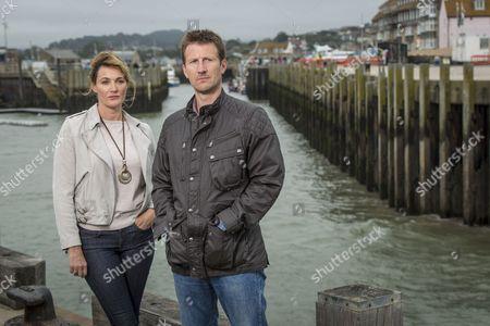 Sarah Parish as Cath and Mark Bazeley as Jim.