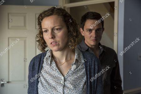 Becky Brunning as Lindsay Lucas and Sebastian Armesto as Clive Lucas.