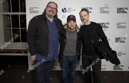 Stephen Marcus, Stephen Graham and Dean O'Toole.