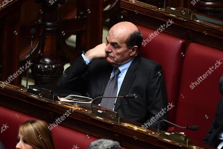 PD's (Democratic Party) Pier Luigi Bersani attends a joint session of deputies, senators and European MPs at the Italian Lower House as part of the 60th anniversary of the signing of the Treaty of Rome celebrations, in Rome, Italy, 22 March 2017. The Treaty of Rome was signed on 25 March 1957 at Campidoglio Palace in Rome by Belgium, France, Italy, Luxembourg, the Netherlands and West Germany to form the European Economic Community (ECC).