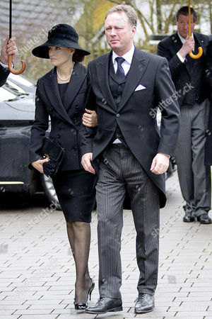 Stock Photo of Prince Gustav of Sayn-Wittgenstein-Berleburg + Carina Axelsson