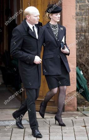 Stock Photo of Princess Nathalie of Sayn-Wittgenstein-Berleburg + Alexander Johannsmann