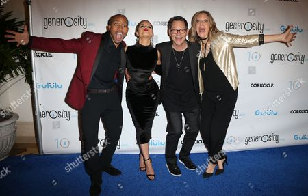 Editorial image of A Night Of Generosity Celebrating World Water Day, Arrivals, Los Angeles, USA - 21 Mar 2017