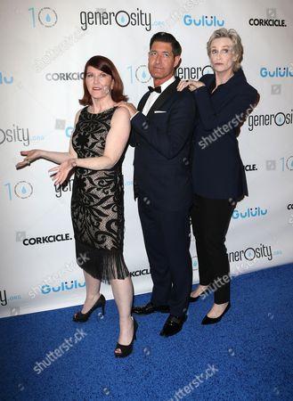 Kate Flannery, Tim Davis, Jane Lynch