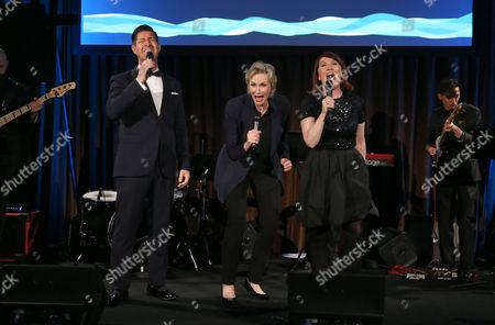 Tim Davis, Jane Lynch, Kate Flannery