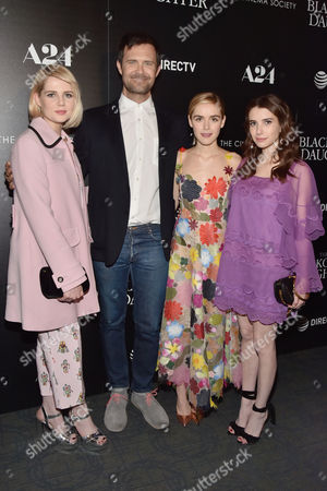 Lucy Boynton, Oz Perkins, Kiernan Shipka and Emma Roberts
