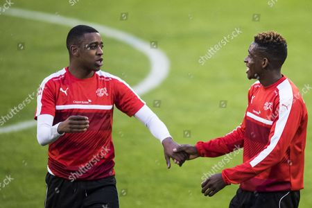 Gelson Fernandes and Jacques Francois Moubandje