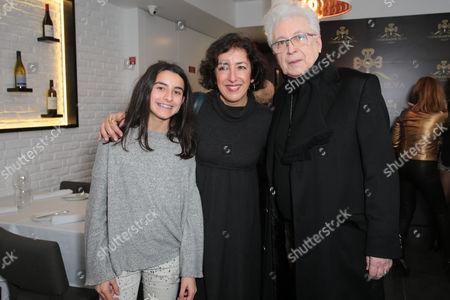 Stock Photo of Patricia Vasconcelos and Aguinaldo Silva
