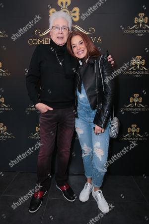 Stock Image of Aguinaldo Silva and Karla Muga