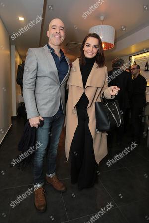 Stock Picture of Mario Redondo and Melania Gomes
